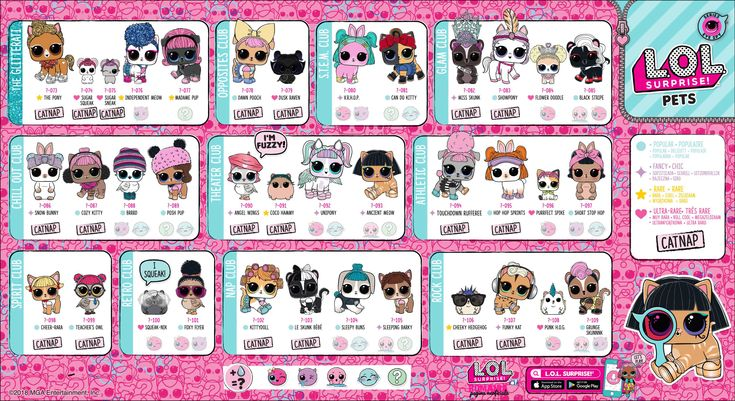 L O L Surprise Eyespy Series Pets Checklist In 2021 Lol Dolls Kids Printable Coloring Pages Lol