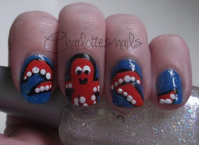 Charlottes-Nails: Summer Fun Challenge - The Big Blue