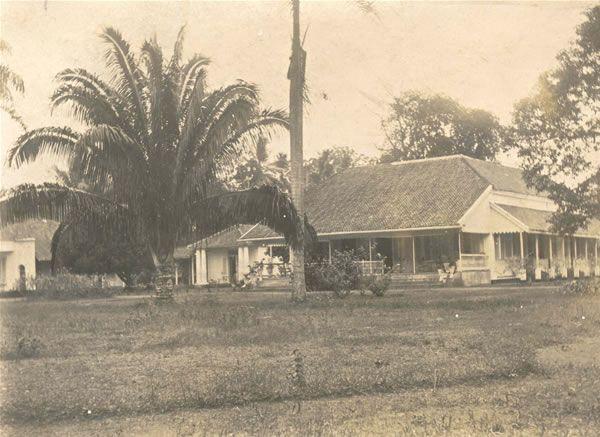 Multatuli's woning te Rangkasbitung (Lebak)