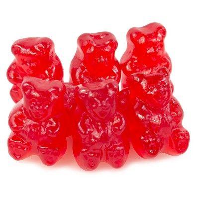 Wild Cherry Gummi Bears 5lb Case (With images) Gummy bears