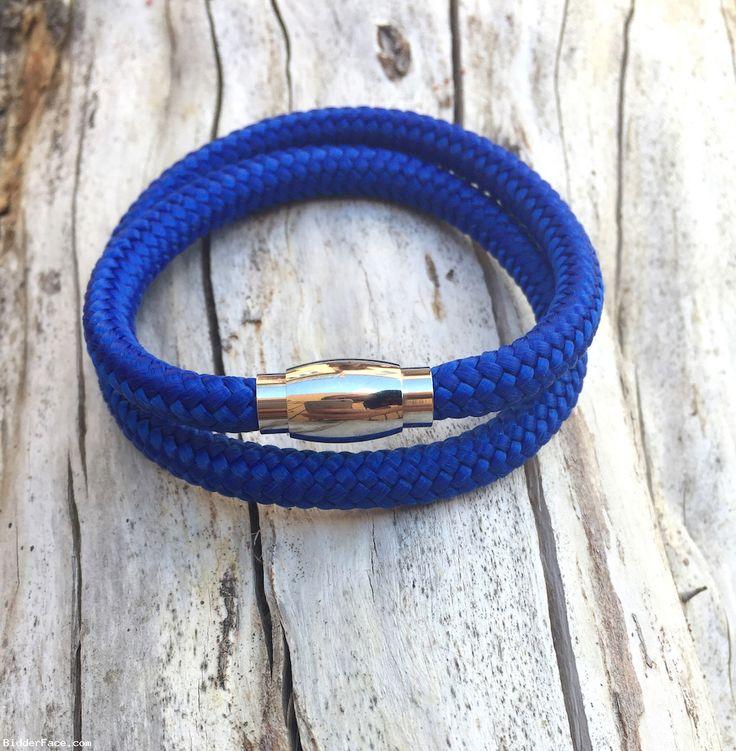 Electric blue bracelet  / Modrý náramok