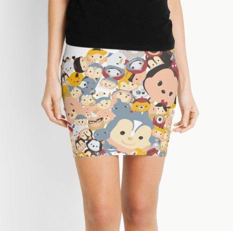 Una falda de tsum tsum