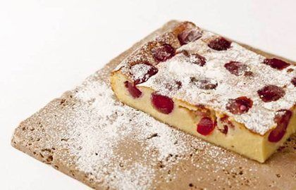 Griotte Cherry Clafoutis Recipe - Great British Chefs