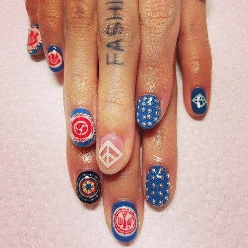 128 best nails images on pinterest enamels make up and ishikawa disco nail prinsesfo Images