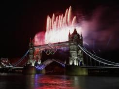 2012 London Olympic Opening Ceremony Commences