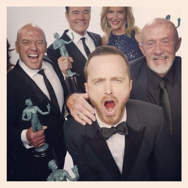 Breaking Bad at the SAG Awards