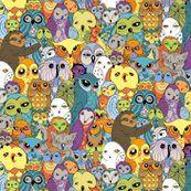 Owl in the Family. I love the random sloth.