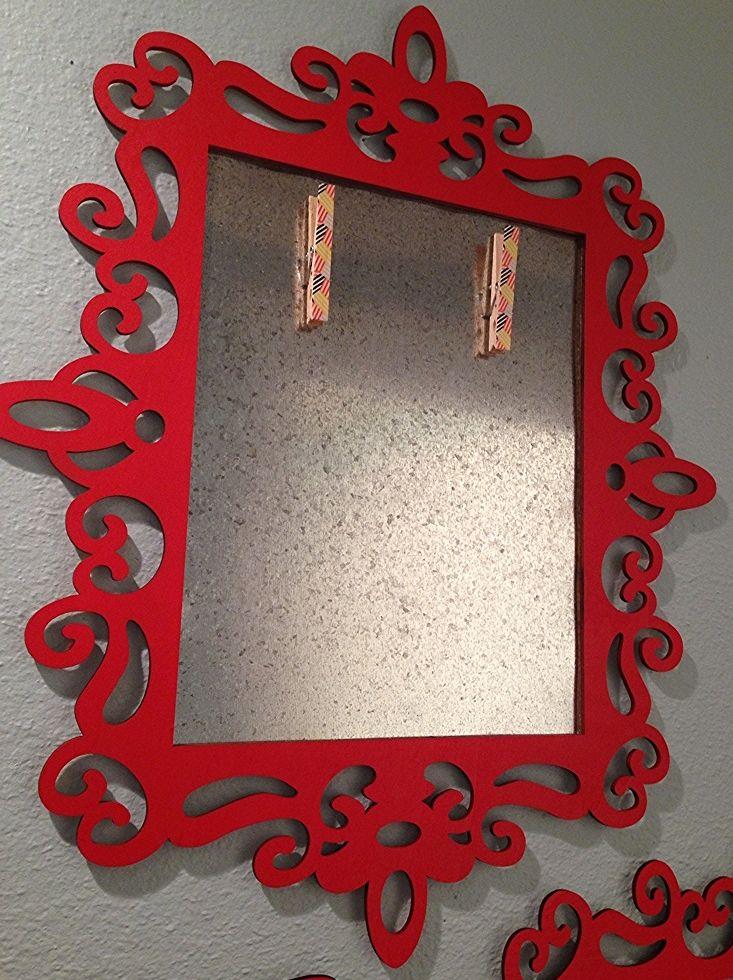 kid art gallery magnetic frames - Dolen Diaries