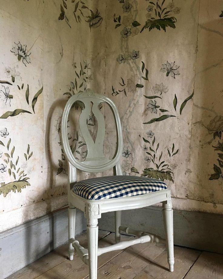 """Drottningholms Slottsteater (@drottningholmsslottsteater) på Instagram: """"Vi fortsätter med #wallpaperwednesday och denna gång besöker vi en av logerna vid scenen. Denna…"""""""
