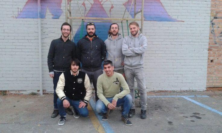 Inizia la prima parte degli interventi sui muri degradati della città che coinvolgono una trentina di artisti