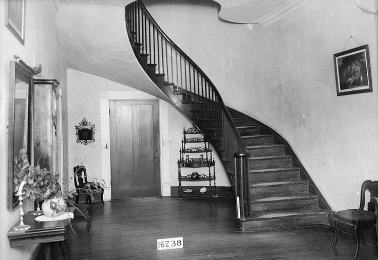 Staircase, Thornhill Plantation, Forkland, Alabama