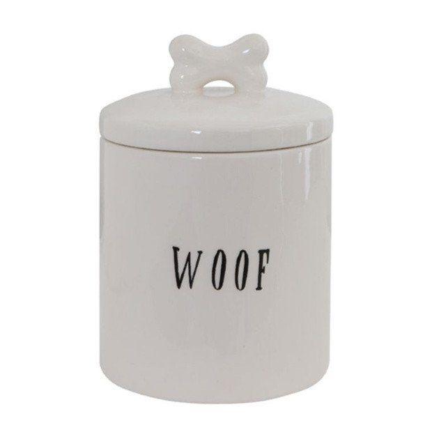 Ceramic Dog Treat Canister Dog Treat Storage Dog Treat Jar Dog Treats