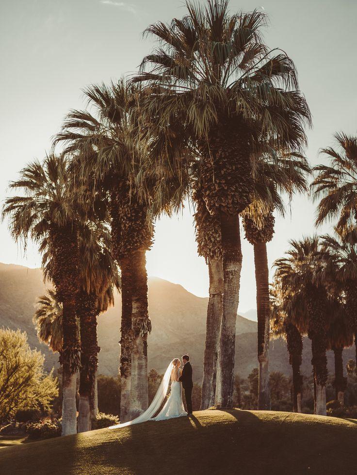 dramatic wedding photography by Joel + Justyna Bedford; Thunderbird Country Club wedding in Palm Springs, California;