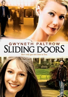 Sliding Doors (1998) Two wholly different universes unfold in writer-director Peter Howitt's romantic fantasy about alternate realities, the reliability of subway schedules and the role fate plays in shaping random lives.: Film, Peter O'Toole, Gwyneth Paltrow, Watch, Favorite Movies, Romantic Fantasy, Universes Unfold, Sliding Doors