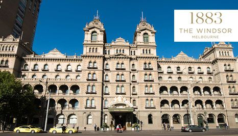 Our Deal - Luxury 5 star overnight stay for two at the grand Victorian style Hotel Windsor. Minutes from Fed Square, MCG