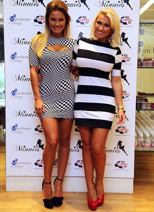 Out for fashion domination: Sam and Billie Faiers already have a Minnie's Boutique in Brentwood, but now they have extended their fashion arms by launching at the Corn Exchange in Manchester