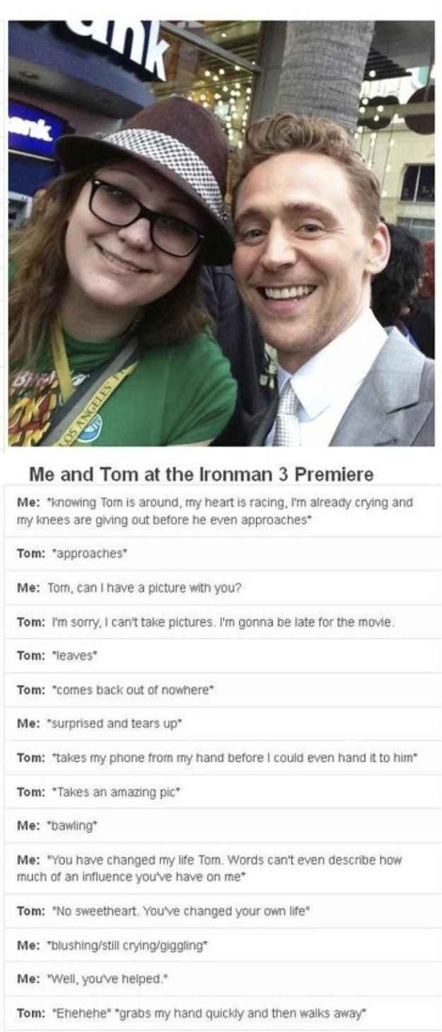 This Post Will Destroy Your Life - Tom Hiddleston. Seriously guys, he's just a beautiful person, on the inside as well as the gorgeous exterior