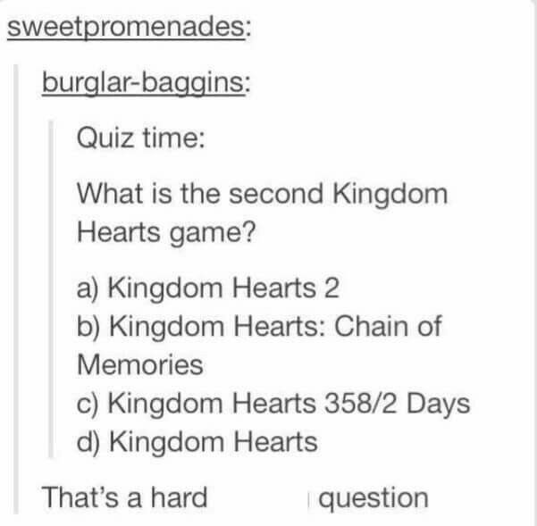 Depends, chronologically it's Kingdom Hearts 1, if you want order of release though, it's Chain of Memories
