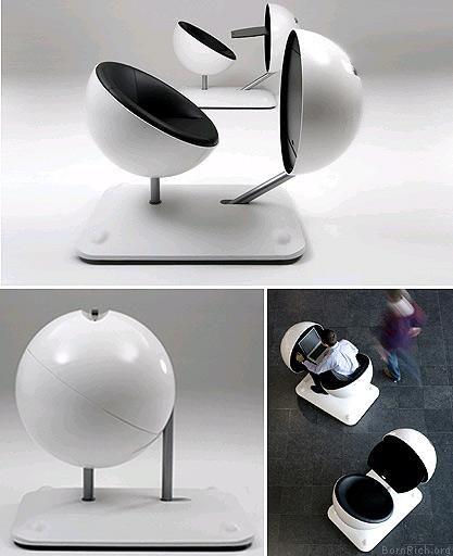 Amazing computer pods