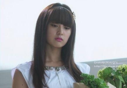 ep2 Kim Ji Won as Yoo Rachel/Yoo Ra Hel  : Tiren ops [The Heirs]