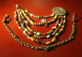 Viking Age bead necklace