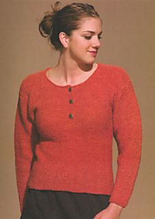 """""""Game Day Sweater"""" Designed by Doreen L. Marquart. Knit with """"Soft Touch Yarn"""" from Shelridge Farm."""