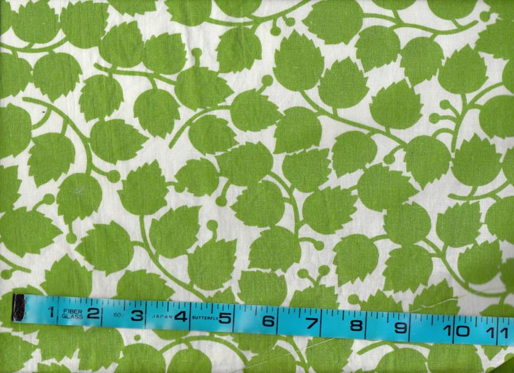 1970s Vintage Cotton Sheet Fabric Yardage by allthepreciousthings, $16.00