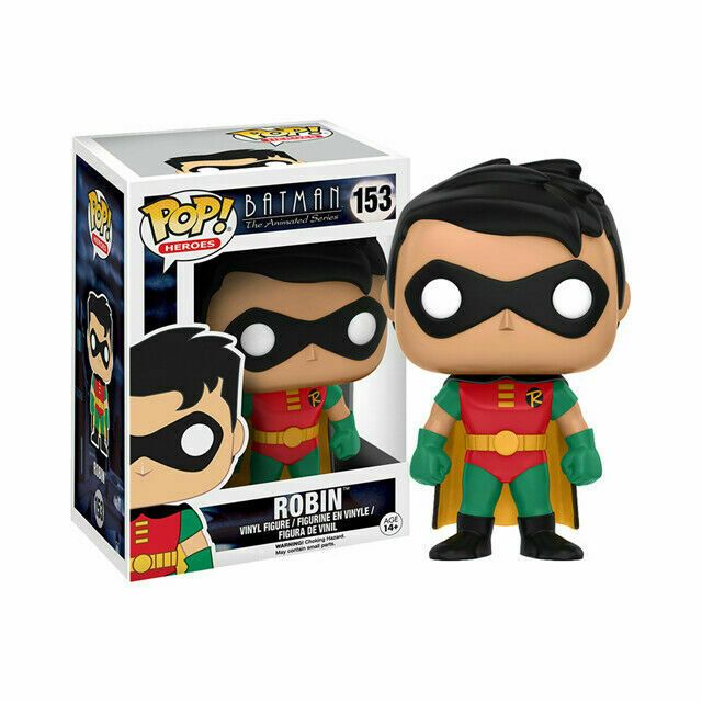 Funko Batman Animated Series Robin DC 153 Pop Figure