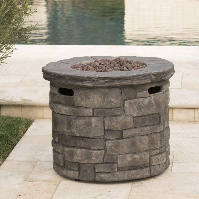 Cooksey Stone Propane Fire Pit Table Propane Fire Pit Table