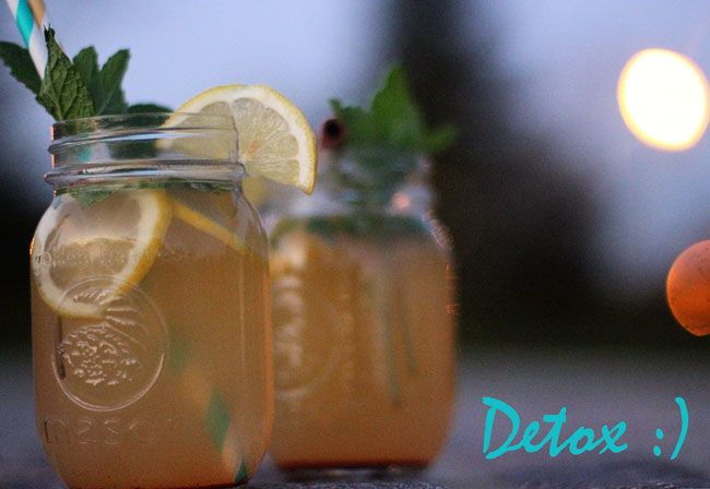 Cinnamon – Apple Cider – Cayenne Detox Drink! It's spicy-delicious!