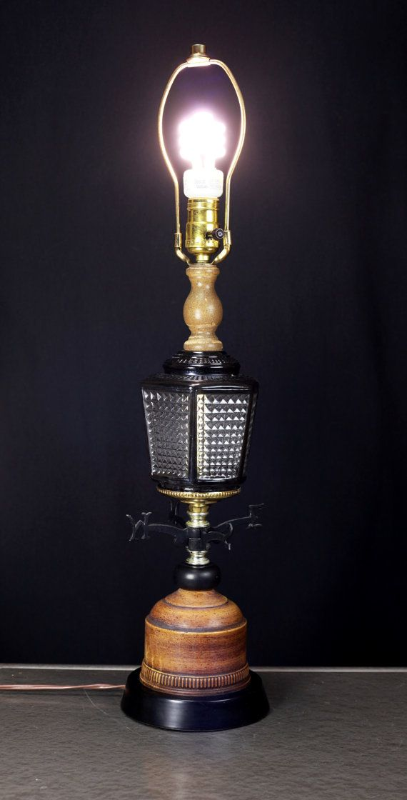 Marvelous Rare Vintage WeatherVane Nautical Table Lamp von ReImagineUpCycling
