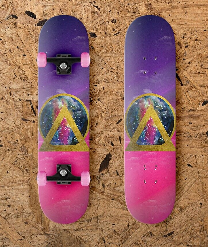 Skateboard Design by Kirsten Petersen Creative