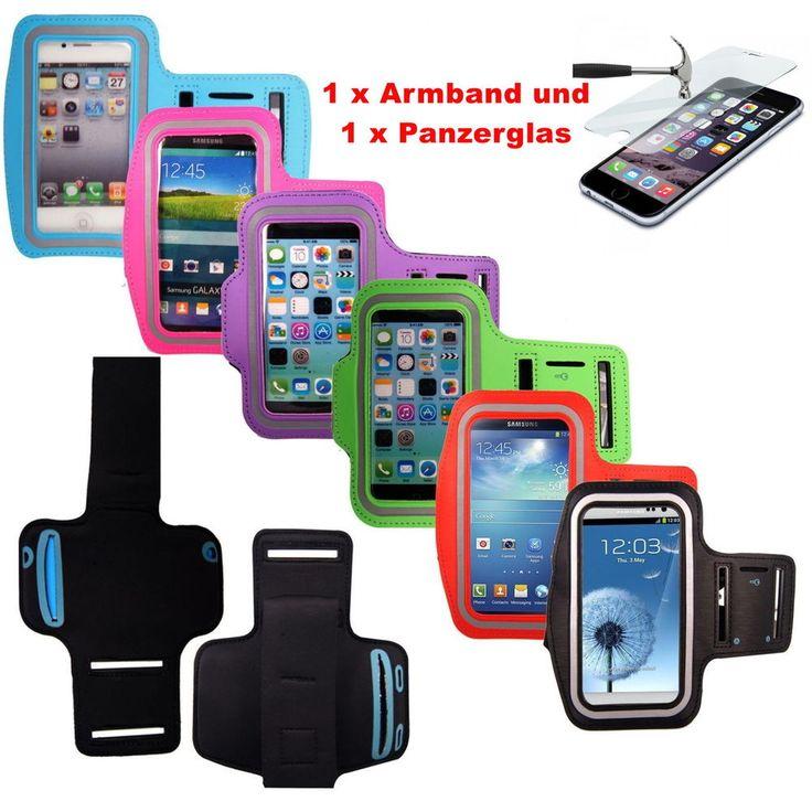 Panzerfolie Sport Armband Tasche Schlüsselfach Jogging Neopren iPhone 6 / 6S | eBay