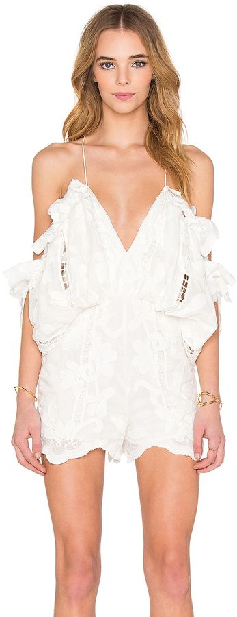 Alice McCall Shake It Off Romper