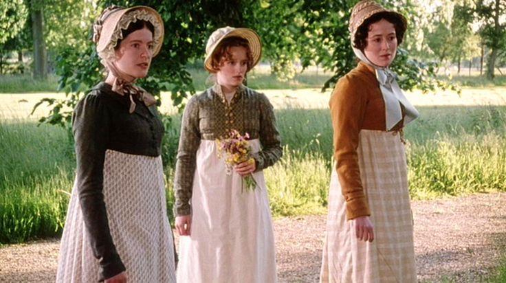 Lucy Scott (Charlotte Lucas), Lucy Davis (Maria Lucas) and Jennifer Ehle…