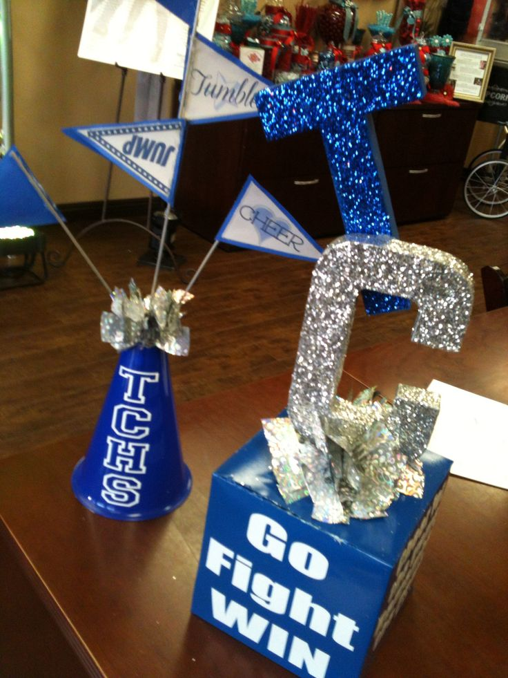 cheerleading banquet centerpieces dinner table centerpiecesfootball centerpiecescenterpiece ideascheerleading
