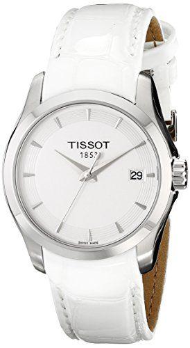 e302752e614 Tissot Women s T0352101601100 Analog Display Swiss Quartz White Watch