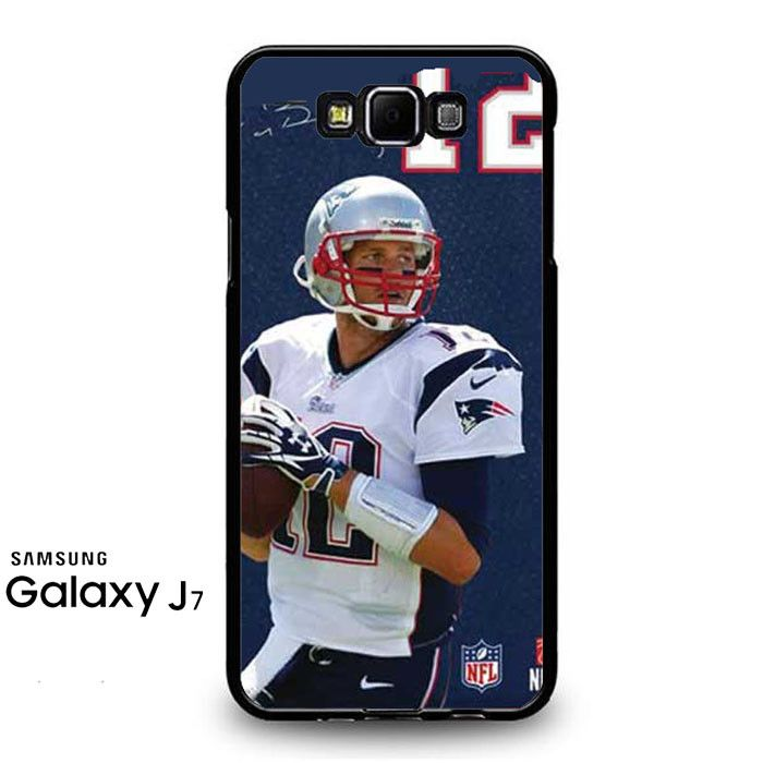 Tom Brady Jersey Bkg Autograph Samsung Galaxy J7 Prime Case