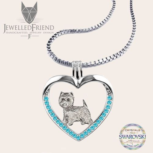 Excited to share the latest addition to my #etsy shop: Westie jewelry necklace pendant with swarovski crystal http://etsy.me/2DLkxoH #jewelry #necklace #birthday #fathersday #dogjewelry #silverdognecklace #silverdogpendant #finedogjewelry #dogthemedjewelry