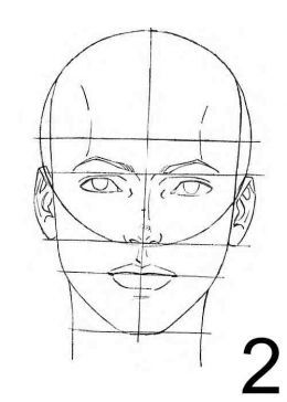 How to Draw Female Face