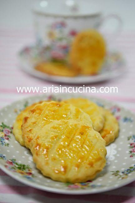 Blog di cucina di Aria: Biscotti Galettes Bretonnes e il sapore del nome Anais