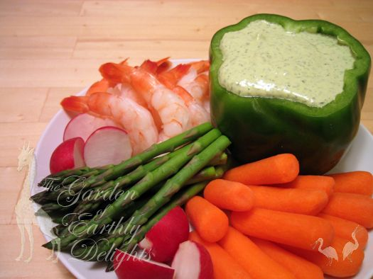 Green goddess dip, an easy party snackHealthy Cooking, Parties Snacks ...