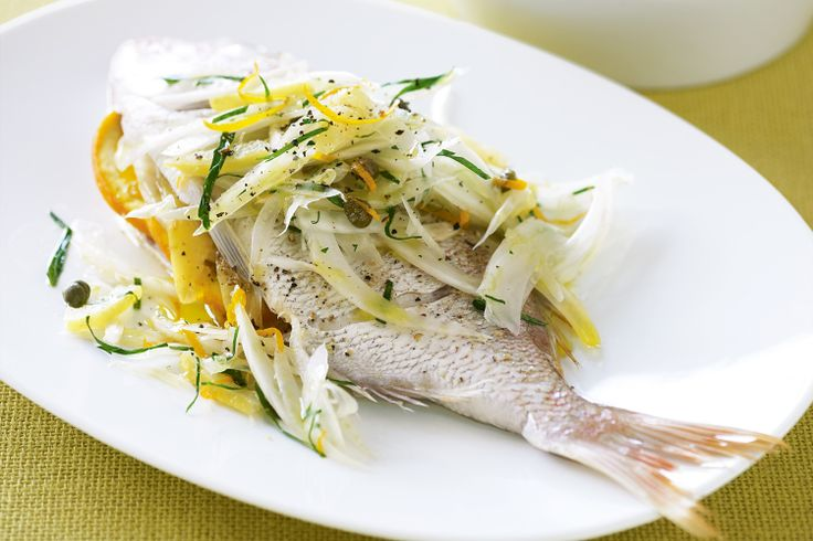 Anyone can prepare this simple yet gourmet dinner of baby snapper with fennel and fresh salad.