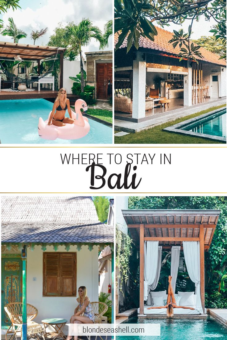 Best places to stay in Bali, Canggu.