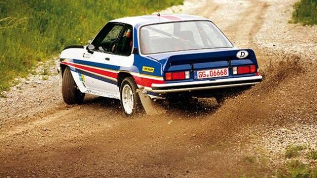 Cars with Rear wheel Drive:   http://www.autorevue.at/motorblog/zehn-autos-mit-heckantrieb.html  Opel Ascona