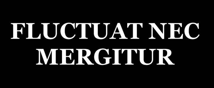 """La devise latine de Paris """"Fluctuat nec mergitur"""", qui signifie """"Il est battu par les flots mais ne sombre pas"""", est devenue pour beaucoup le slogan de la résistance de Paris face au terrorisme. (DR)"""