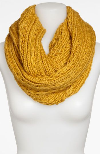 Lulu Cable Knit Infinity Scarf available at #Nordstrom