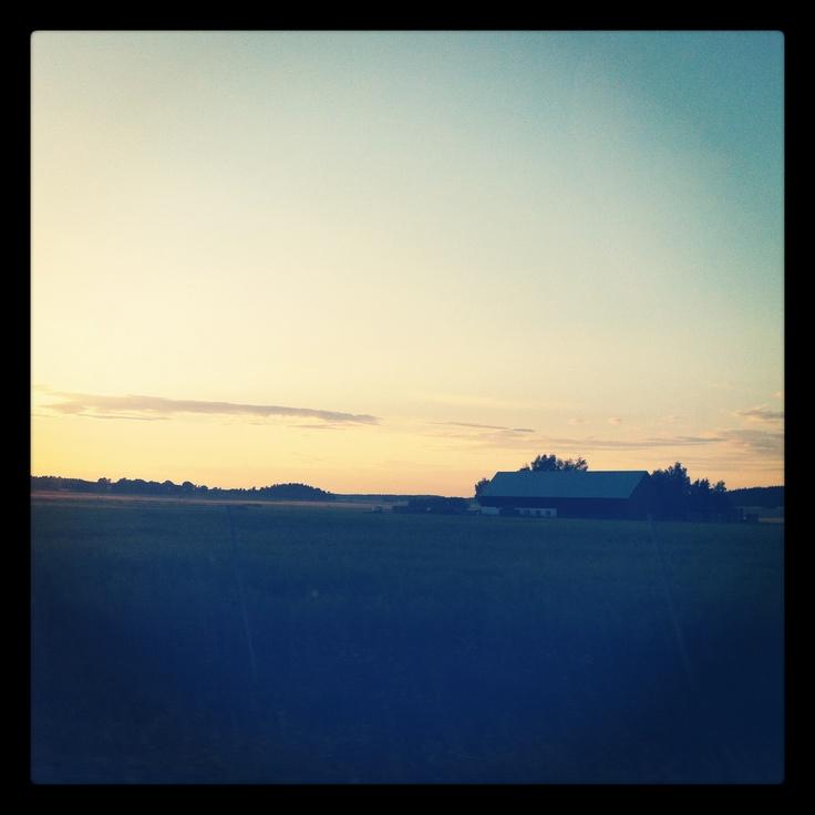 #summer in #sweden  #dawn
