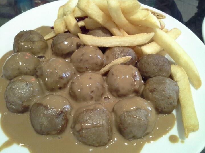 Ikea's Meatballs. Fav all the time.