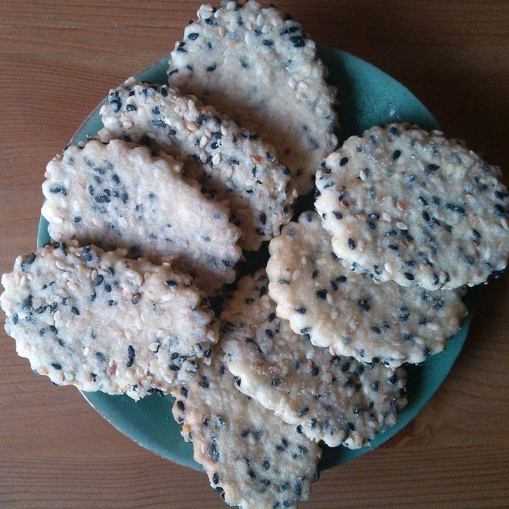 Alchymie v mojí kuchyni: Korejské vánoční sezamové sušenky